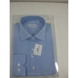 Camicia slim collo francese